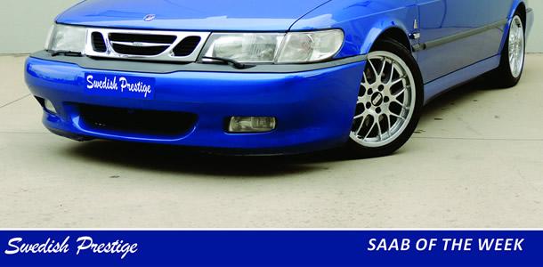 SAAB of the Week: 1999 SAAB 9-3 Viggen