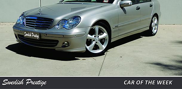 Car of the Week: Mercedes Benz C200 Kompressor